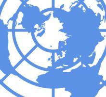 United Nations Logo Sticker