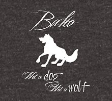 Balto- Not a Dog, Not a Wolf (white) Hoodie