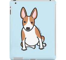 English Bull Terrier Puppy Dog ... brown & white iPad Case/Skin
