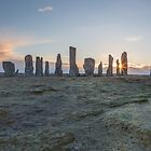 Callanish Stones, Isle of Lewis by Cliff  Green