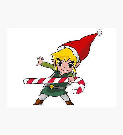 Merry LinkMas Photographic Print
