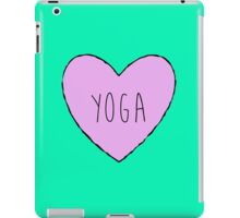 Yoga Heart iPad Case/Skin