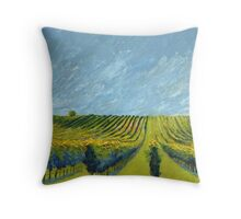 France #1 by artist Thomas Andrew Throw Pillow