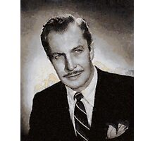 Vincent Price Hollywood Actor Photographic Print