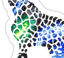 Galaxy Giraffe Sticker