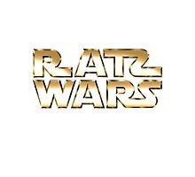 RATS WARS Photographic Print