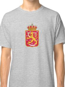 Finland Hockey National Team Coat of Arms Classic T-Shirt