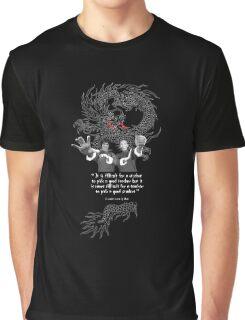Bruce Lee & Ip Man - Philosophy Graphic T-Shirt