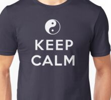 ying yan keep calm zen Unisex T-Shirt