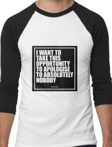 Conor McGregor - Absolutely Nobody Men's Baseball ¾ T-Shirt