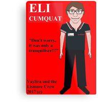 Eli Cumquat Metal Print