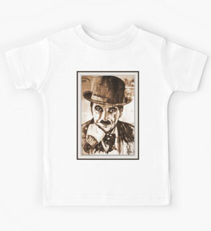 old book drawing famous people cal Kids Tee