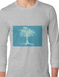 Watercolor of autumn tree Long Sleeve T-Shirt