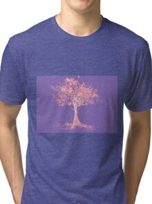 Watercolor of autumn tree Tri-blend T-Shirt