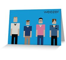 Weezer - Blue Album Tribute Greeting Card