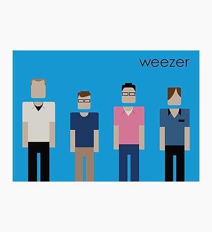 Weezer - Blue Album Tribute Photographic Print