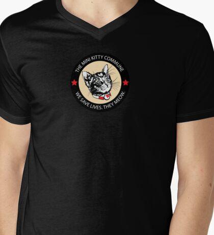 Secretary Starbuck - Patch Mens V-Neck T-Shirt