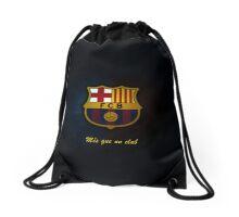 barcelona fc Drawstring Bag