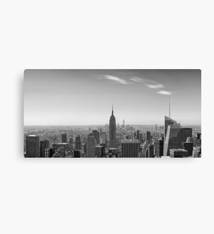 New York City - Empire State Building Panorama - 2015 Edition Canvas Print