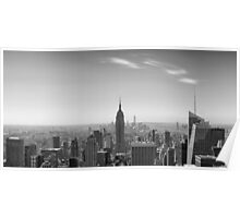 New York City - Empire State Building Panorama - 2015 Edition Poster