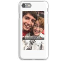 Chris and I 2 iPhone Case/Skin