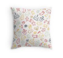 Christmas Decorative Pattern Throw Pillow
