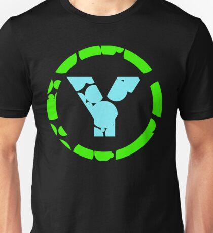 PrYda lightgreen lightblue Unisex T-Shirt