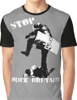 Stop Police Brutality Graphic T-Shirt