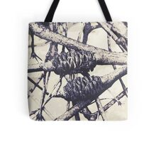 Graphic Burnt Banksia Pods Tote Bag