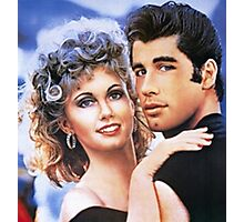grease cartoon Photographic Print