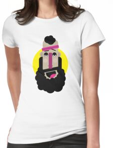 Sportive Guy Womens Fitted T-Shirt