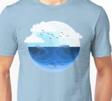 Nature Blues - Whales Unisex T-Shirt