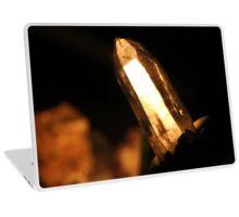Laser Wand Quartz Crystal Laptop Skin