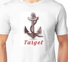 Anchor Text Graphic Unisex T-Shirt