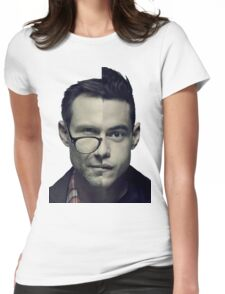 Mr Robot - Who Am I Womens Fitted T-Shirt