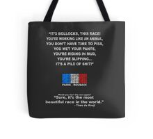 Paris Roubaix - Most Beautiful Race in the World Tote Bag