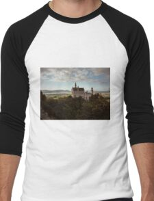 Neuschwanstein Castle in Germany  Men's Baseball ¾ T-Shirt