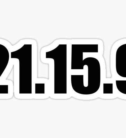 21.15.9 Sticker