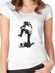 Stomp Women's Fitted Scoop T-Shirt