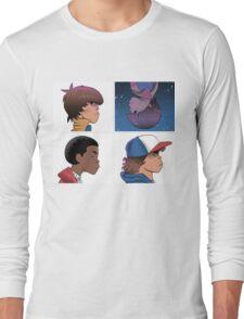Stranger Things Nostalgiaz Long Sleeve T-Shirt
