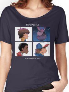 Stranger Things Nostalgiaz Women's Relaxed Fit T-Shirt