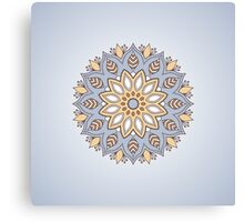 Vector ornamental mandala.  Canvas Print