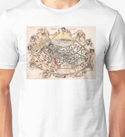 1513 World map Generale Ptholemei by Martin Waldseemüller Unisex T-Shirt