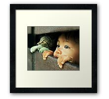 See The Future Framed Print