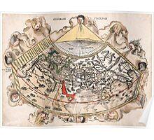 1513 World map Generale Ptholemei by Martin Waldseemüller Poster