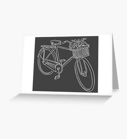 Bike Greeting Card