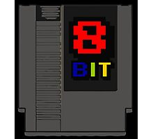 8bit 8 bit cartridge Photographic Print