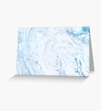 Blue Marble iPhone Case Greeting Card