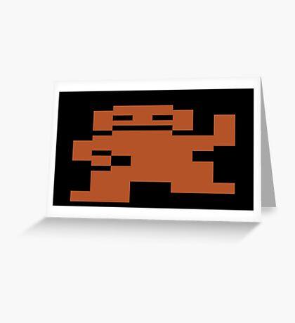 Donkey Kong Atari 2600 Greeting Card
