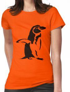 Pengu 4 Womens Fitted T-Shirt